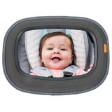 Brica Baby In Sight Soft-Touch Auto Mirror - Grey image 0