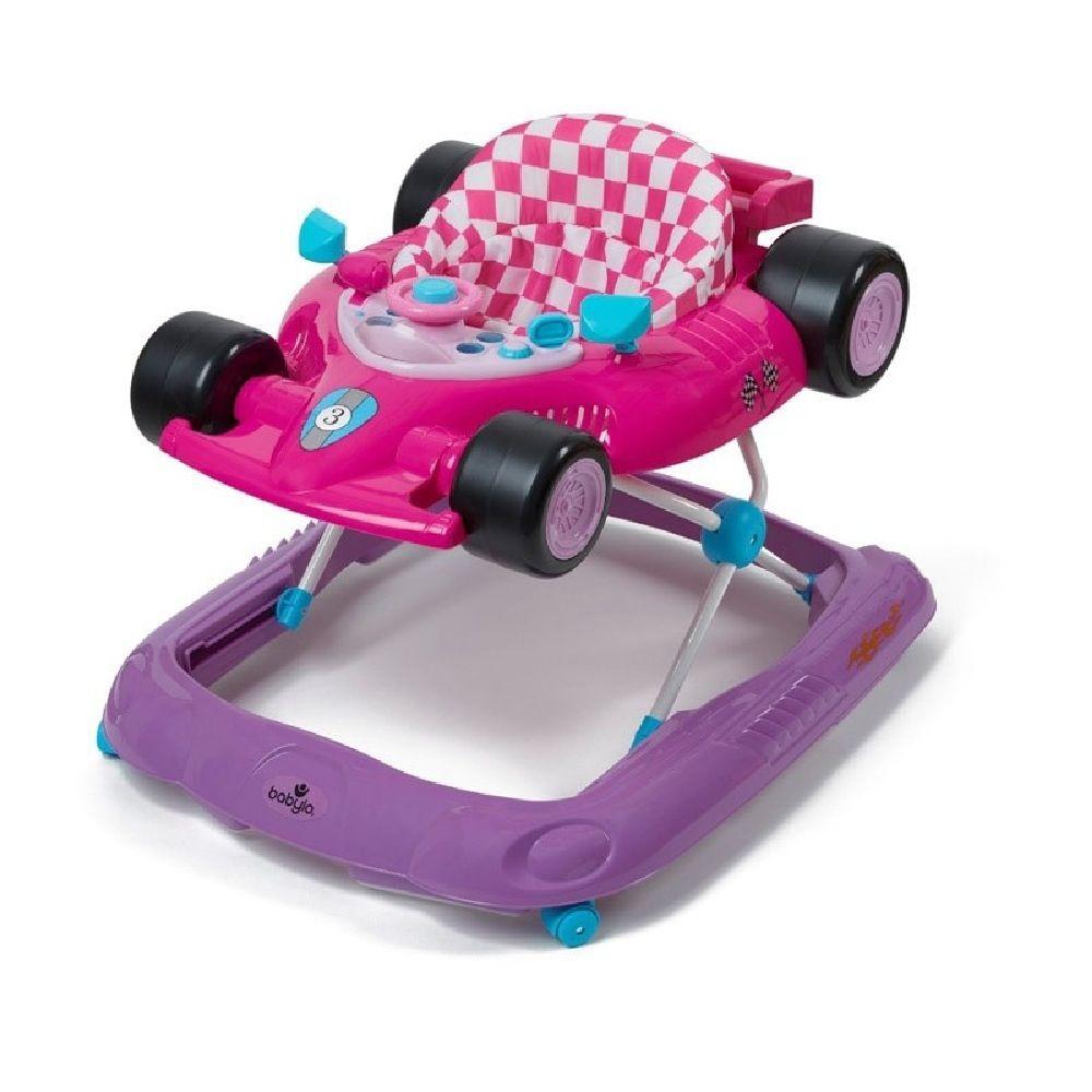 4Baby Racing Car Walker Pink