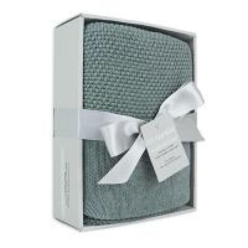 Little Bamboo Knit Blanket Whisper Small image 1