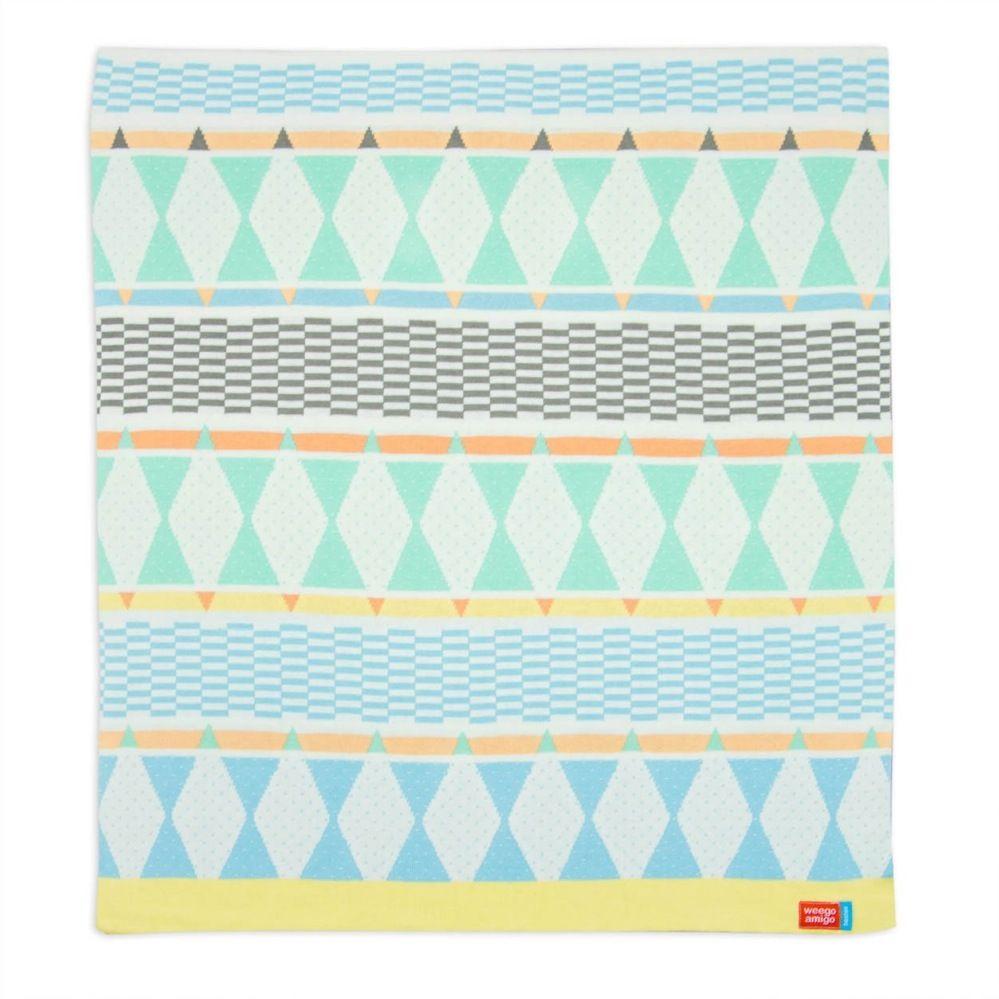 Weegoamigo Bestee Knit Blanket Harlequin image 0