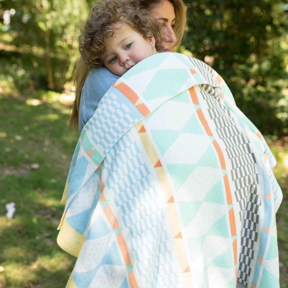 Weegoamigo Bestee Knit Blanket Harlequin image 4