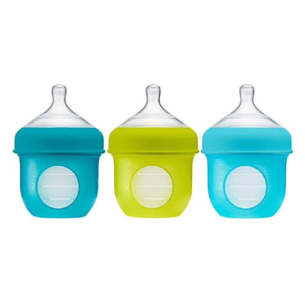 Boon Nursh Bottle 118Ml Blue 3 Pack image 0