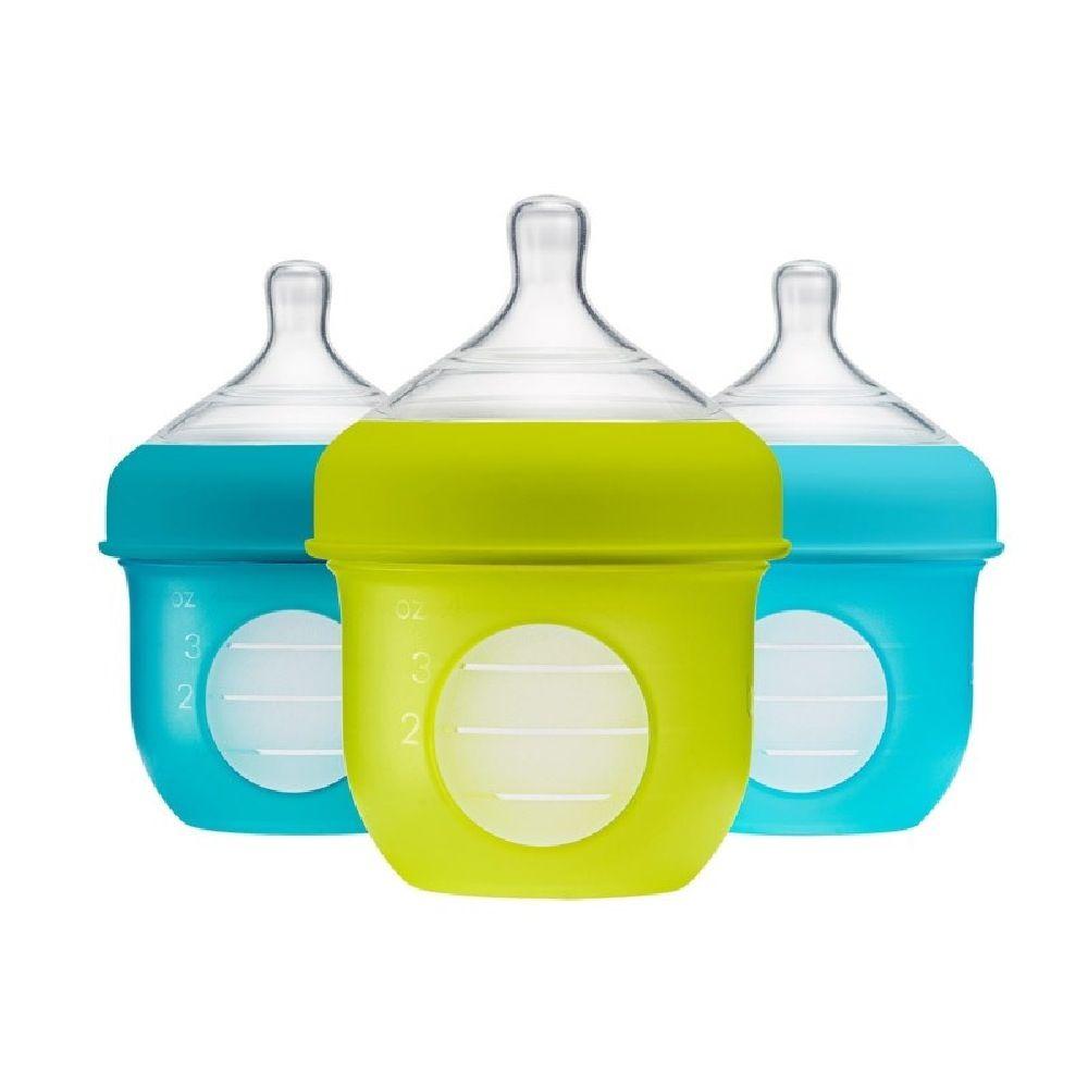 Boon Nursh Bottle 118Ml Blue 3 Pack image 3