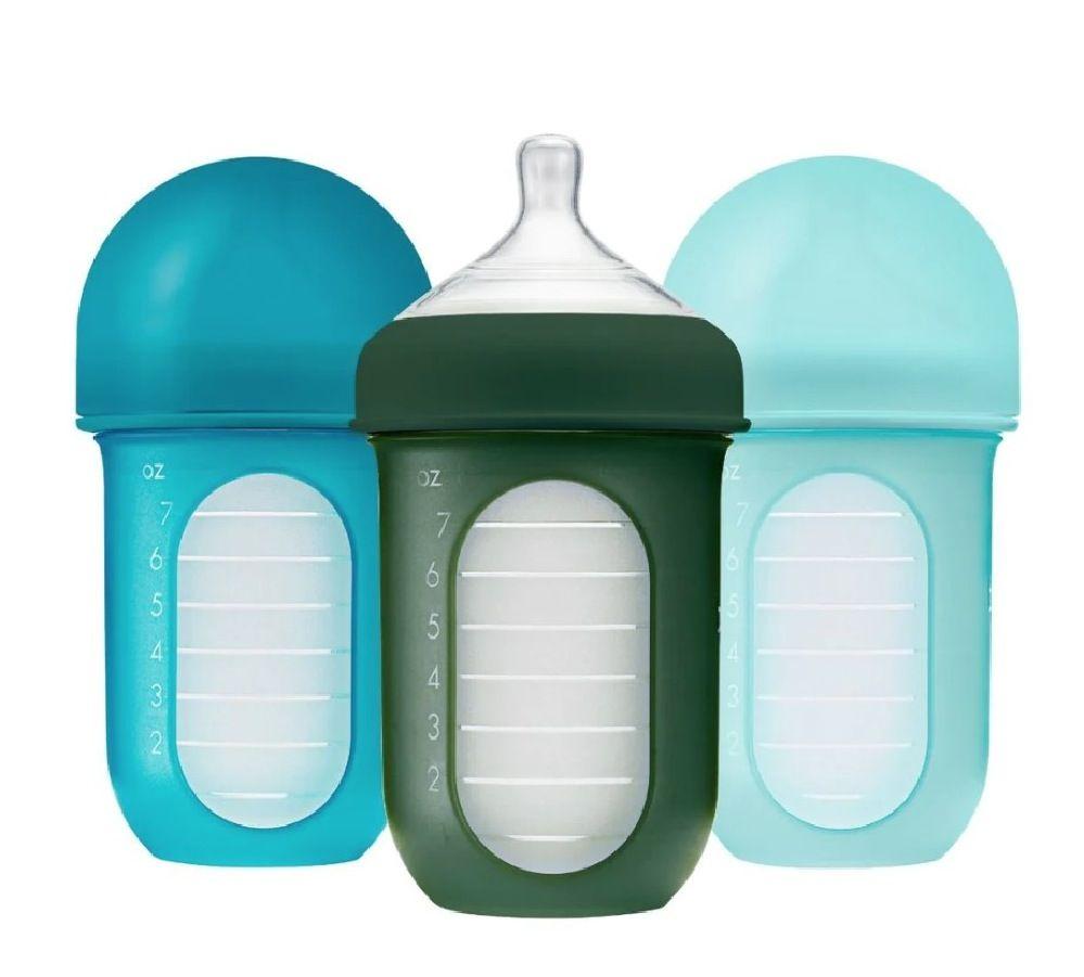 Boon Nursh Bottle 236Ml Blue 3 Pack image 0