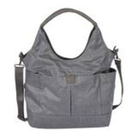 OIOI Slouch Bucket Tote Nappy Bag Grey Denim