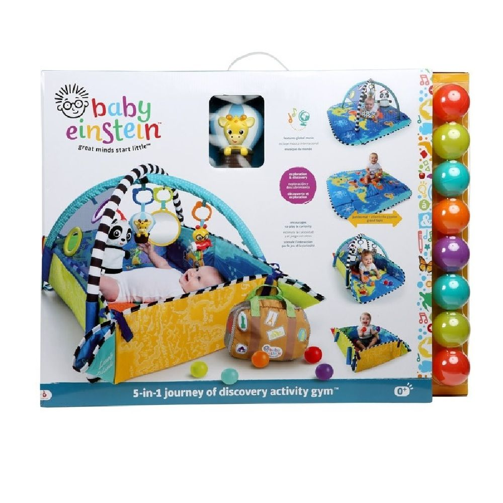Baby Einstein 5-in-1 Journey Of Discovery Activity Gym image 1