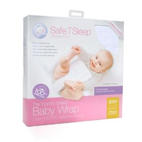 Safe T Sleep Cot Sleepwrap White (Online Only)