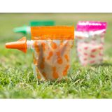 Cherub Baby On the Go Food Pouch Neon Melon & Hot Pineapple Special Edition 10 Pack image 1
