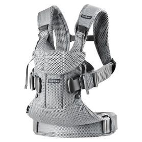 BabyBjorn Baby Carrier One Air Silver Mesh
