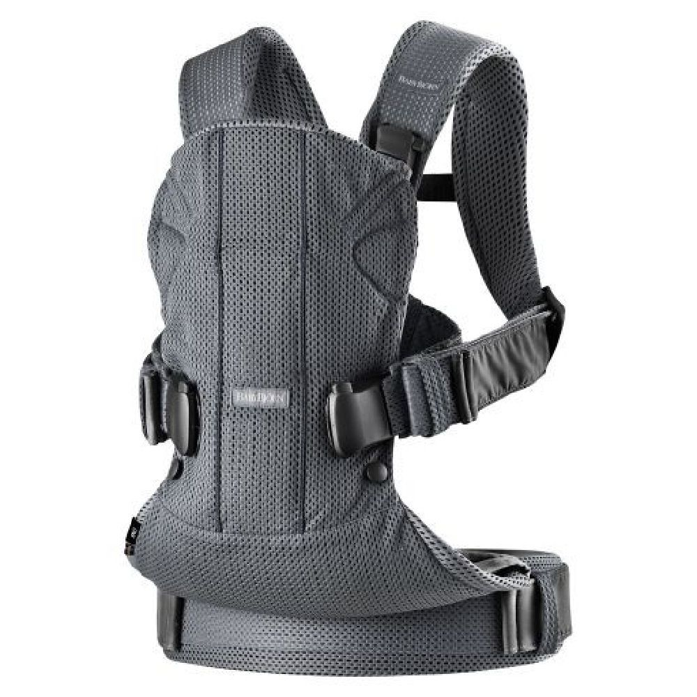 BabyBjorn Baby Carrier One Air Anthracite Mesh image 1
