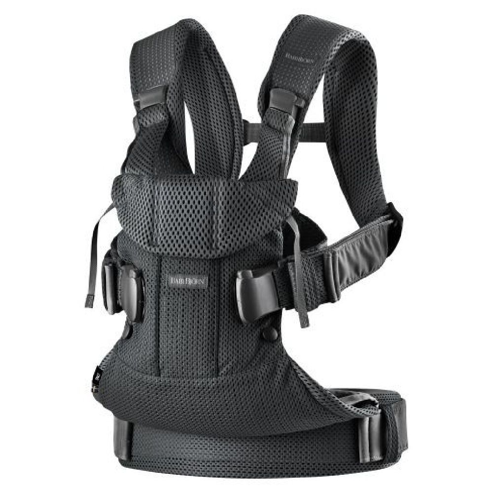 BabyBjorn Baby Carrier One Air Black Mesh image 0