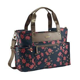 JJ Cole Arrington Nappy Bag Navy Floral