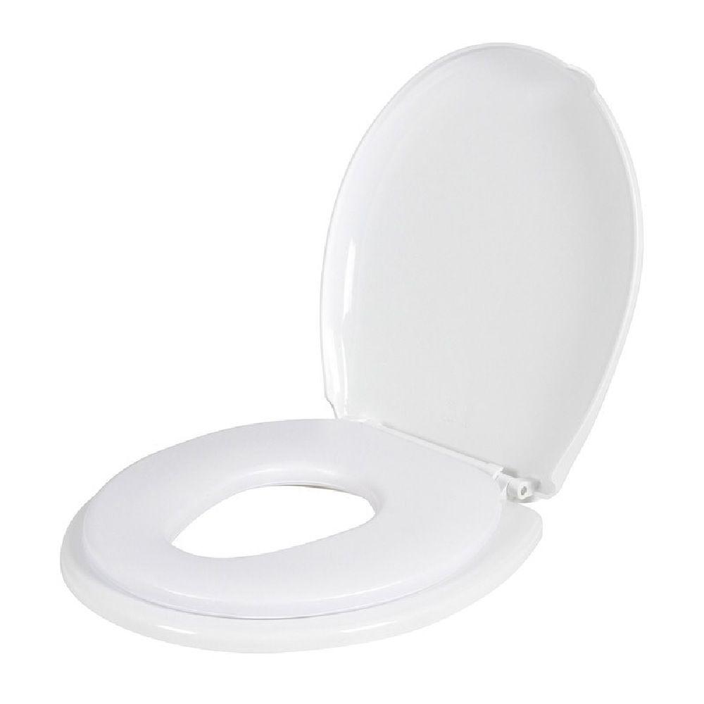 Childcare 2- in -1 Toilet Trainer White
