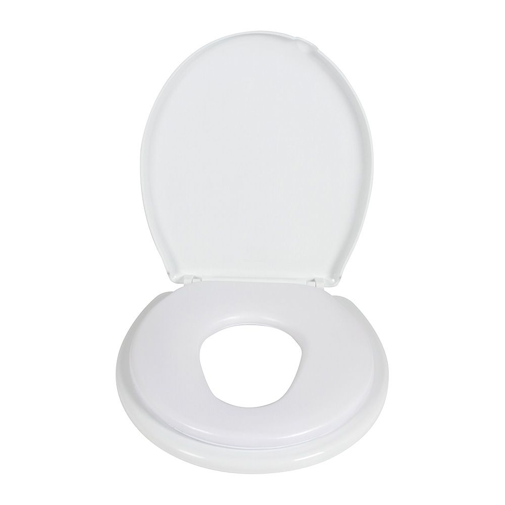 Childcare 2- in -1 Toilet Trainer White image 2