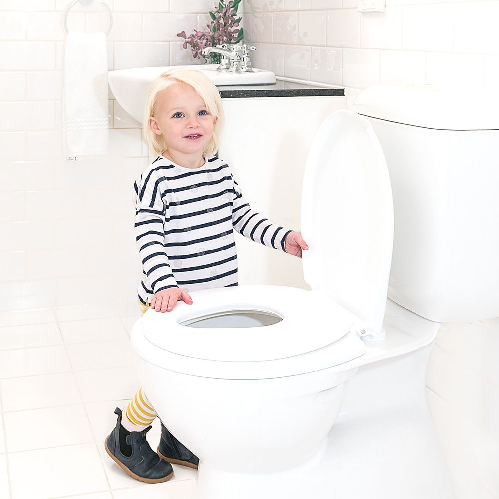 Childcare 2- in -1 Toilet Trainer White image 3