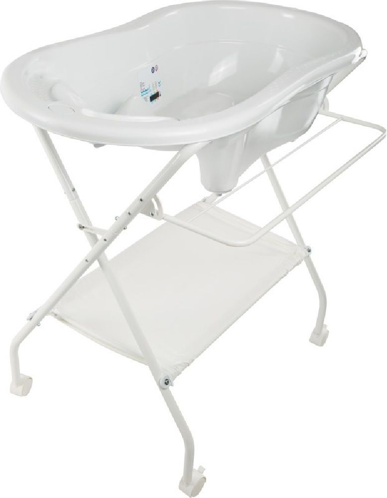 Infasecure Ulti Deluxe Bath Stand White