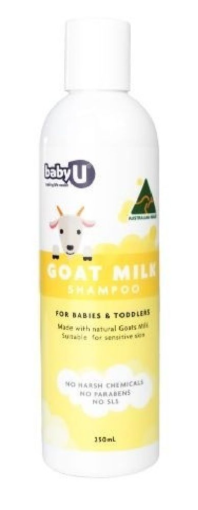 Baby U Goats Milk Shampoo 250ml