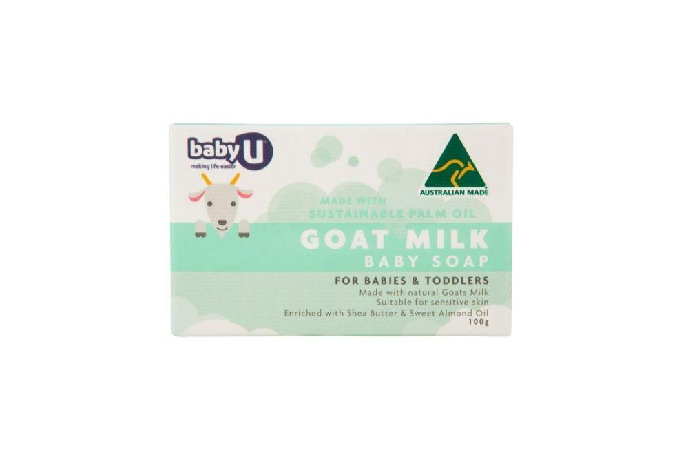 Baby U Goats Milk Baby Soap 100g image 0