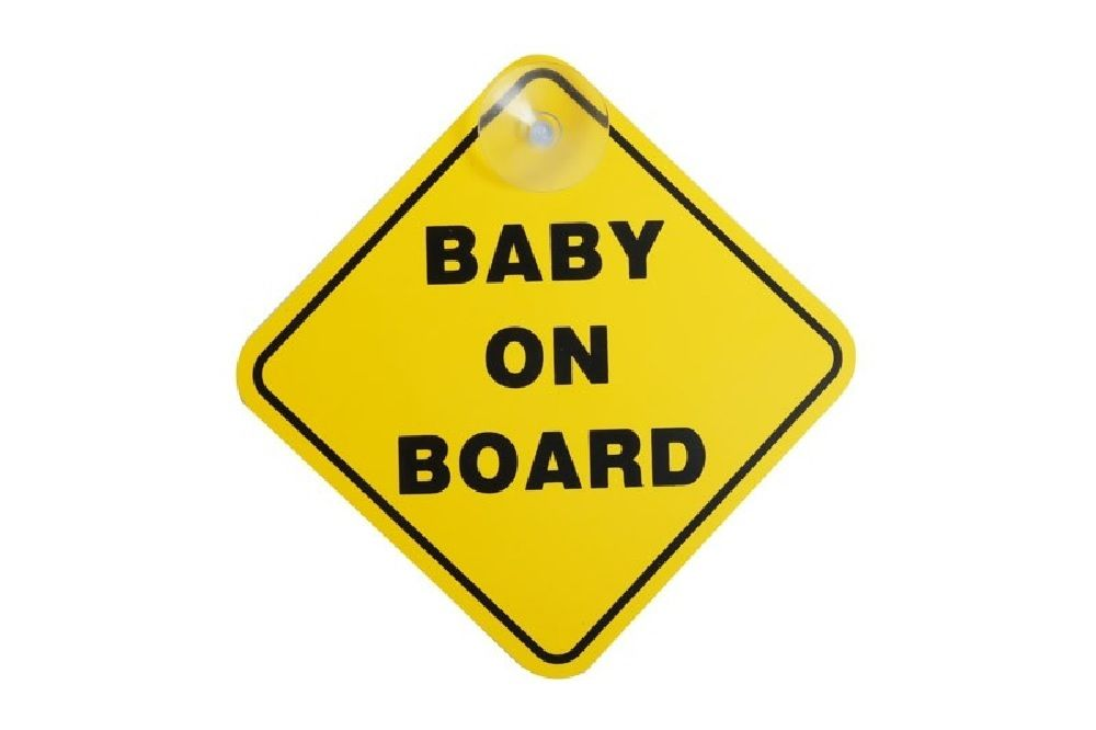 4Baby Baby On Board Sign image 0