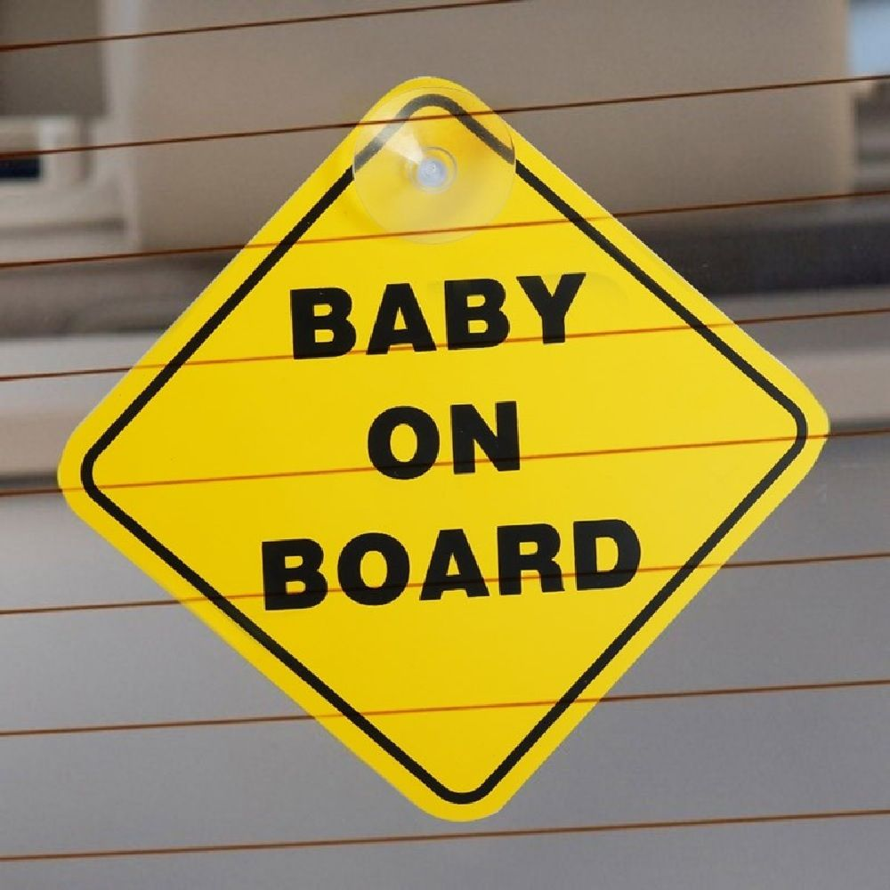 4Baby Baby On Board Sign image 1