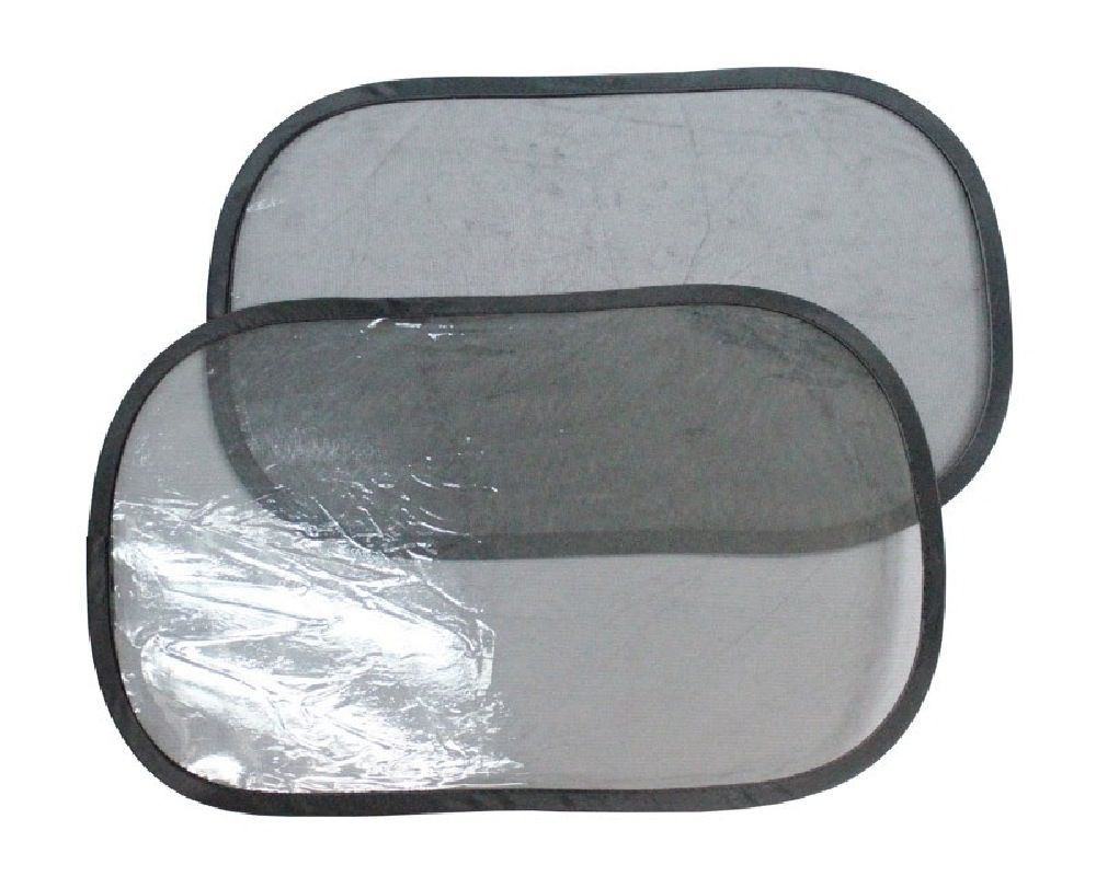 4Baby Super Cling C.Seat Shades Black 2 Pack image 0