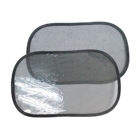 4Baby Super Cling C.Seat Shades Black 2 Pack