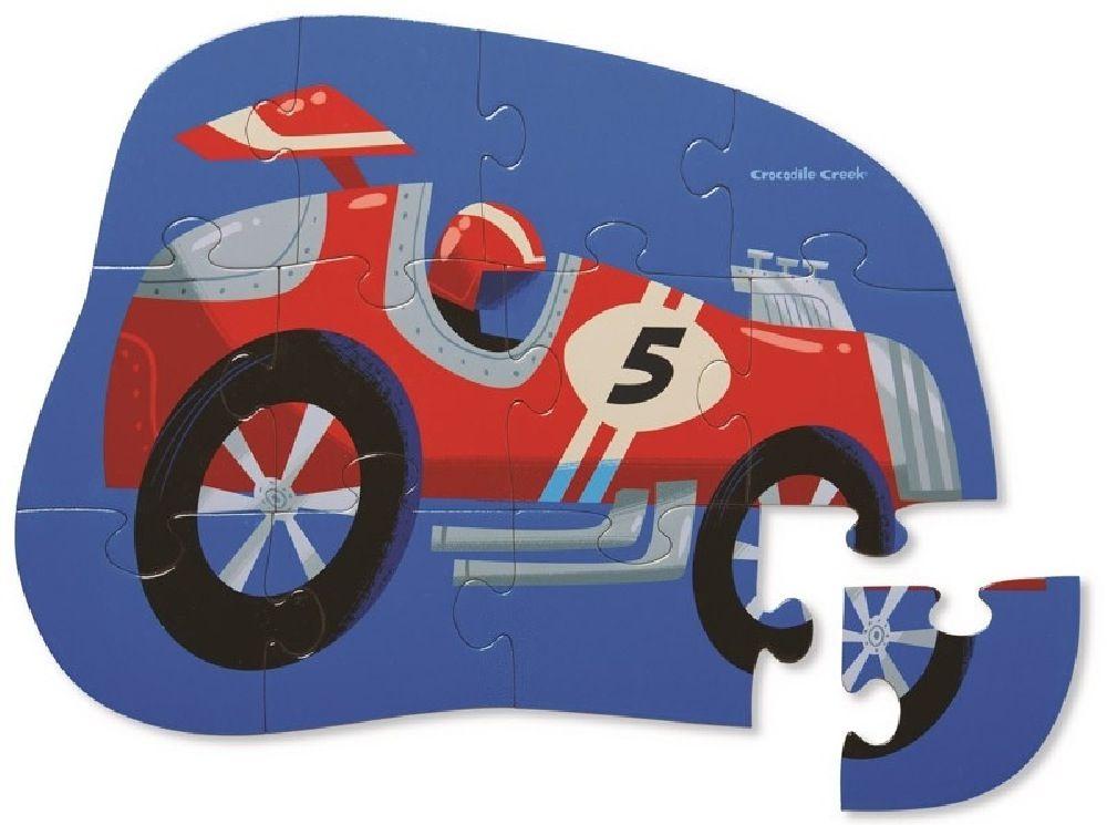 Crocodile Creek 12 Piece Mini Puzzle At The Races