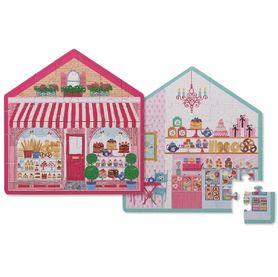 Crocodile Creek 24 Piece Mini Puzzle Sweet Shop