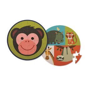 Crocodile Creek 24 Piece Puzzle Monkey Friends