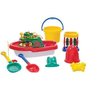 Beach Jumbo Boat Set