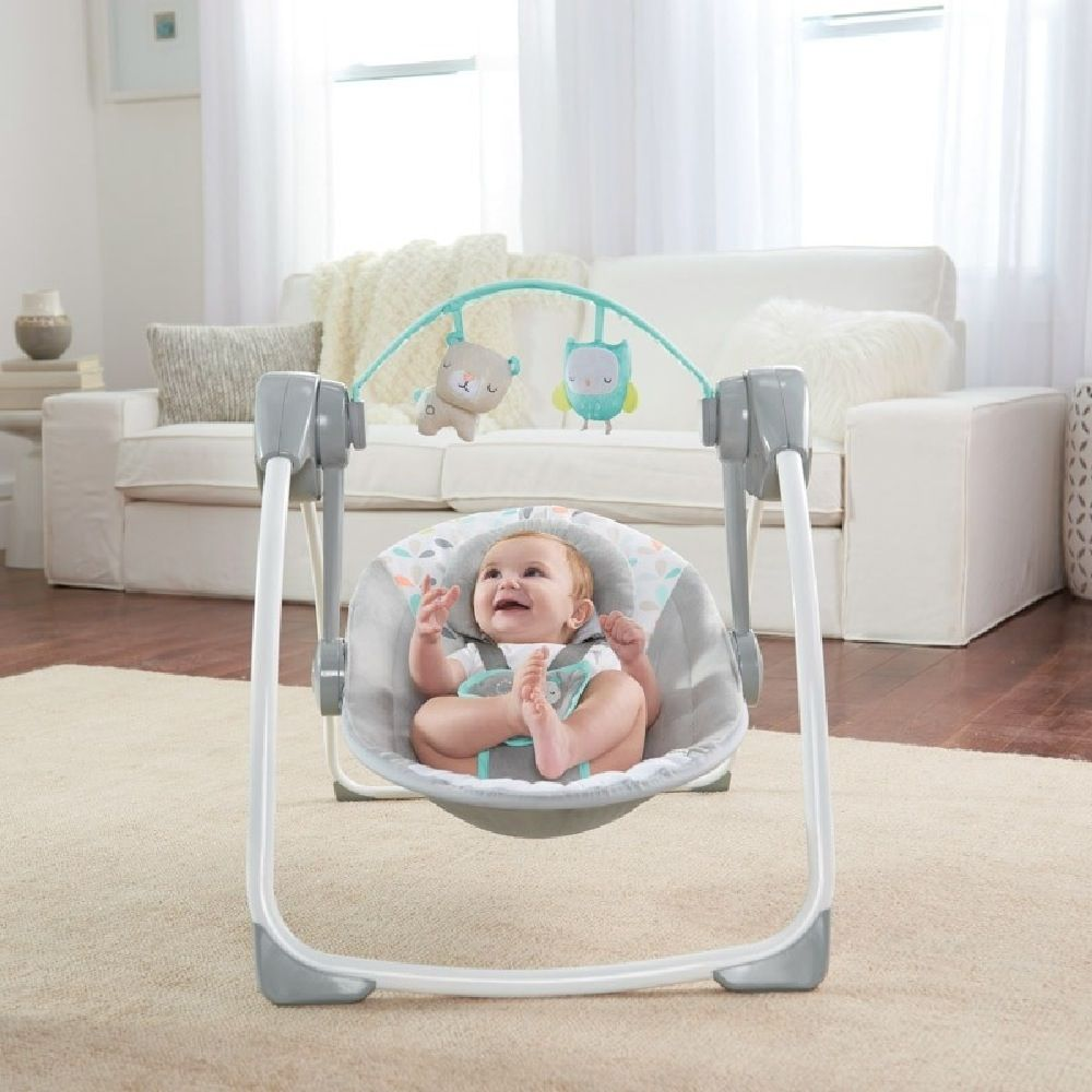 Ingenuity Comfort 2 Go Portable Swing Fanciful Forest image 2
