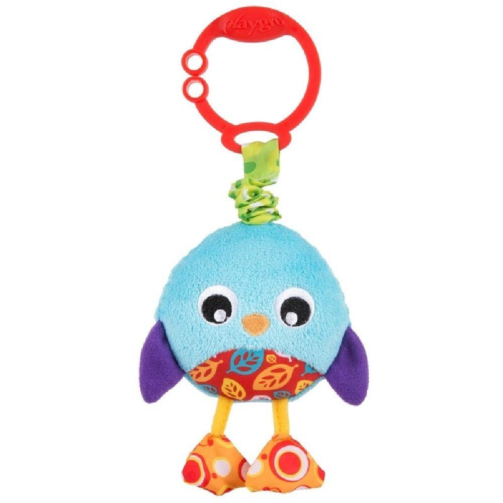 Playgro Wiggling Poppy Penguin image 0
