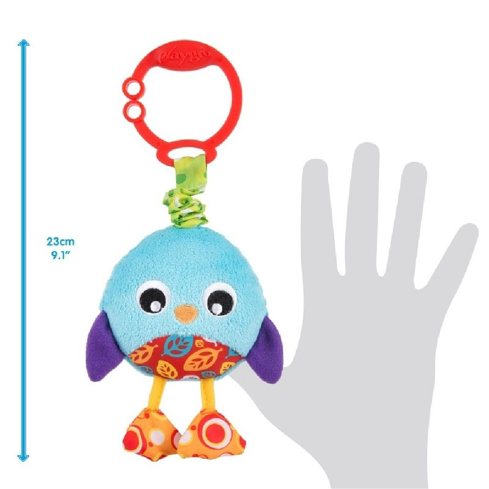 Playgro Wiggling Poppy Penguin image 1