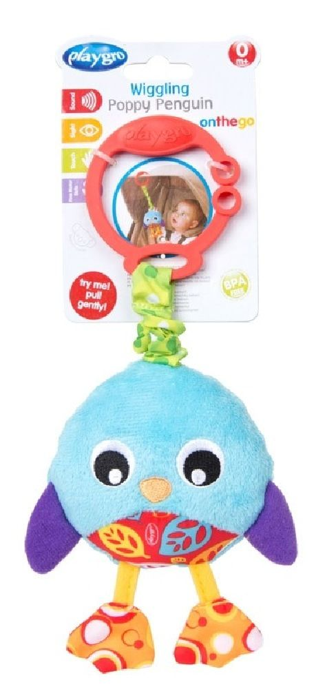 Playgro Wiggling Poppy Penguin image 3