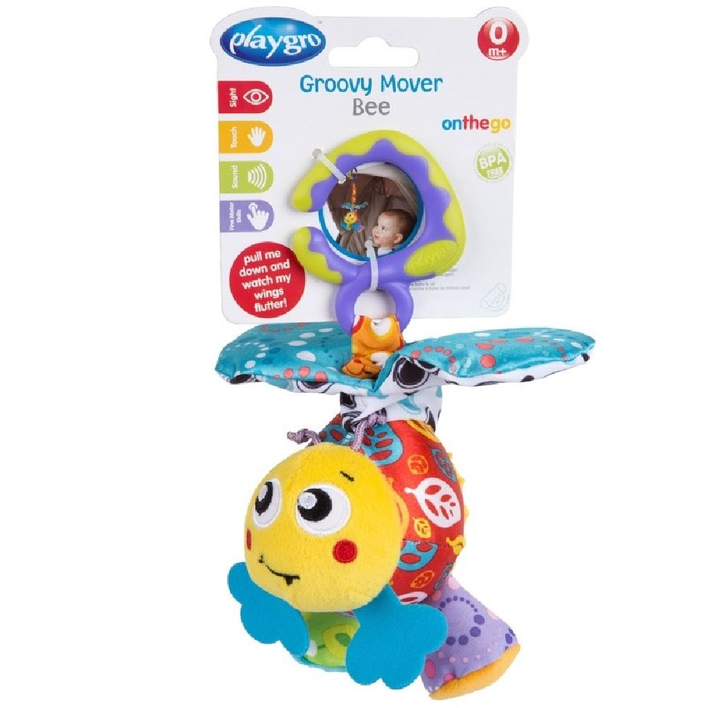 Playgro Groovy Mover Bee image 2