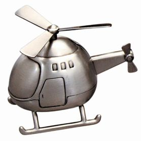 Memories Money Bank Helicopter