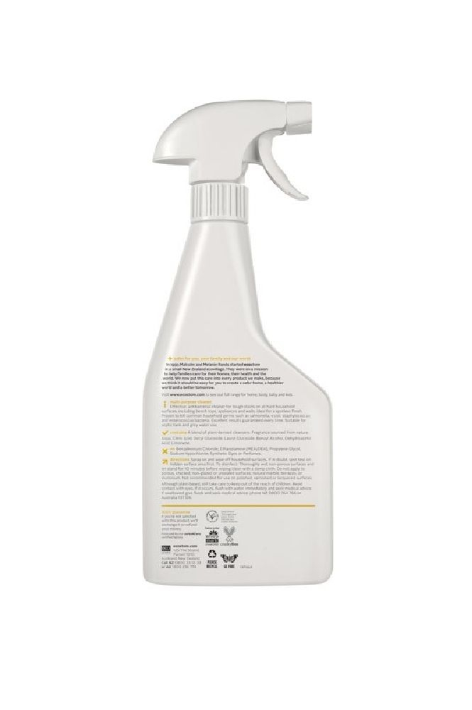 Ecostore Multipurpose Spray Cleaner Citrus 500Ml image 1