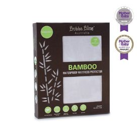 Bubba Blue Bamboo Bassinet Pillow Protector White