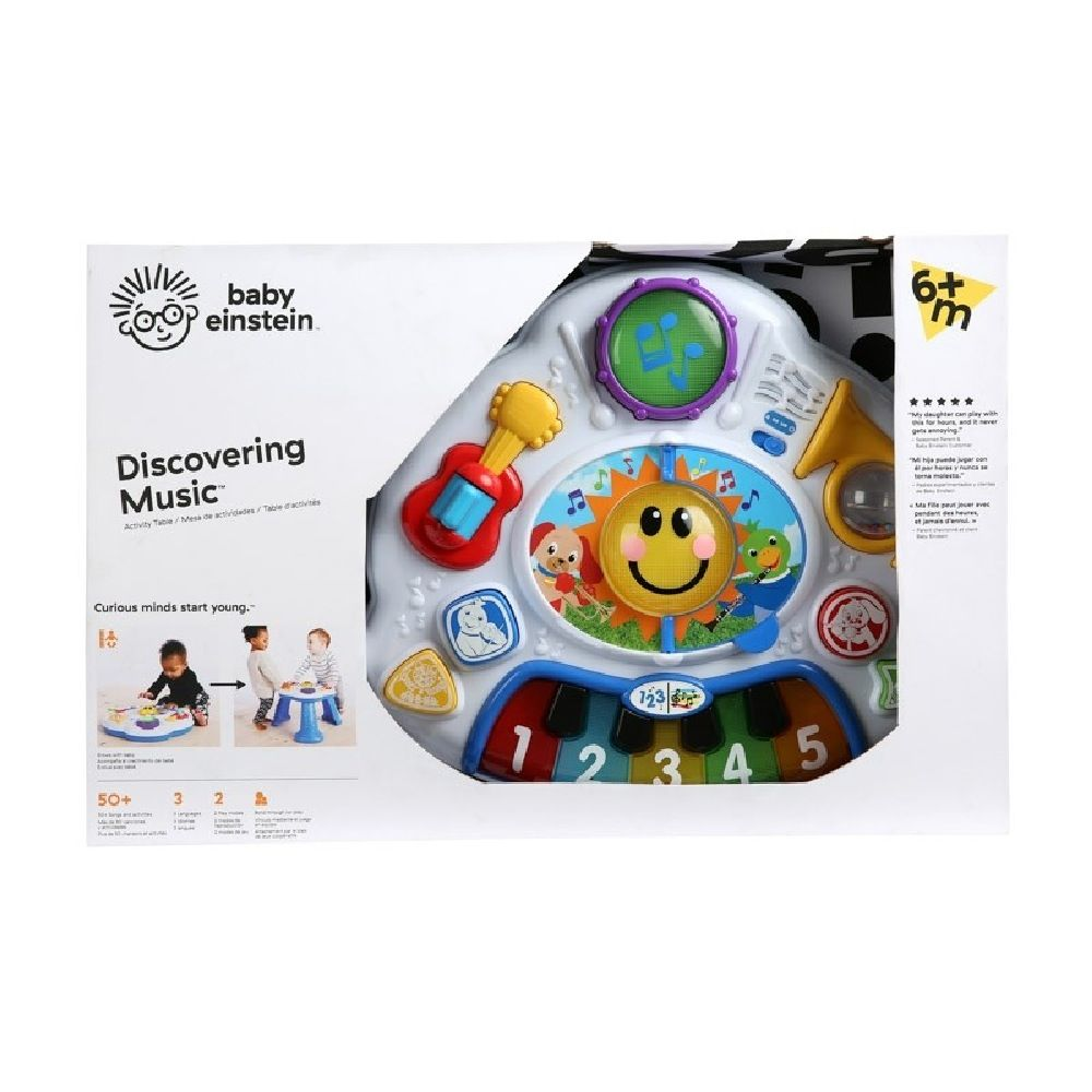 Baby Einstein Discovering Music Activity Table image 1