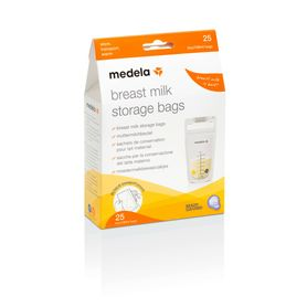 Medela Breastmilk Storage Bags 25 Pack