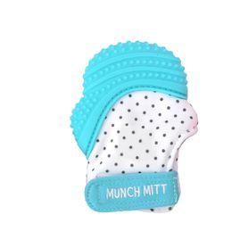 Malarkey Munch Mitt Teething Mitten Aqua