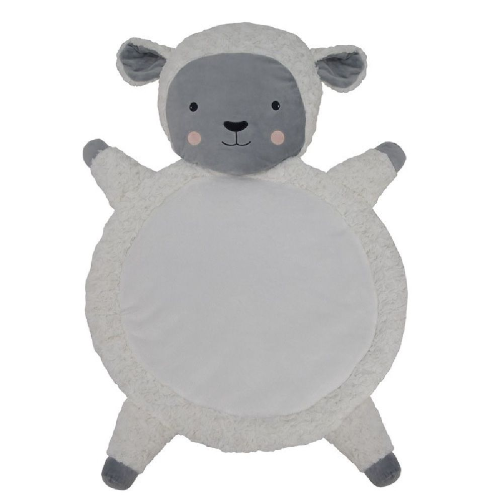 Living Textiles Character Playmat Sheep White