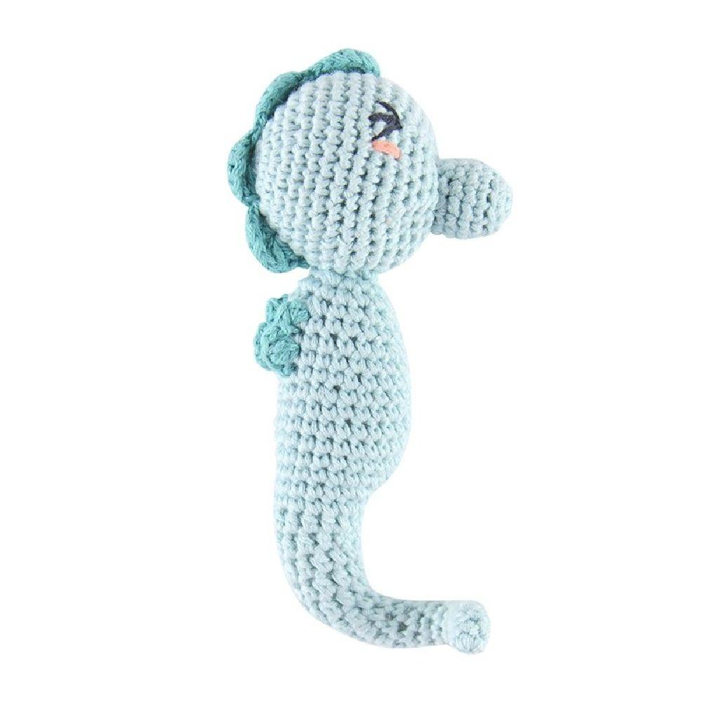 Weegoamigo Crochet Rattle Seahorse image 0