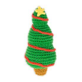 Weegoamigo Crochet Rattle Christmas Tree