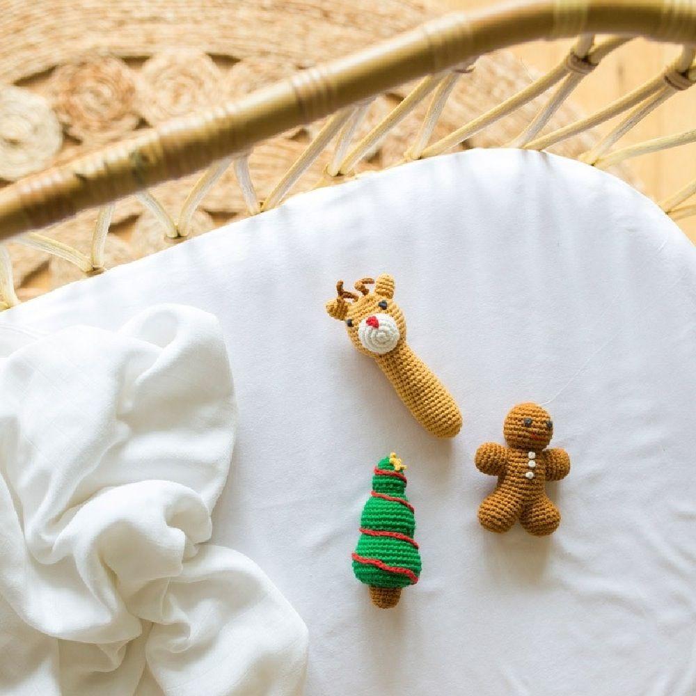 Weegoamigo Crochet Rattle Christmas Tree image 1