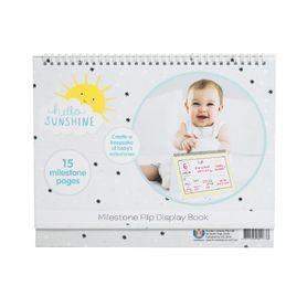 Hello Sunshine Milestone Flip Display