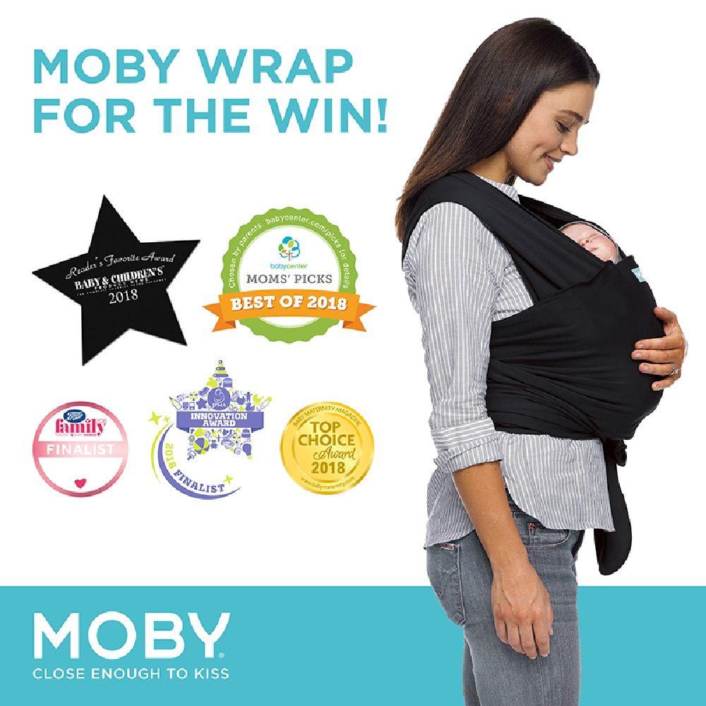 Moby Evolution Wrap Black image 2