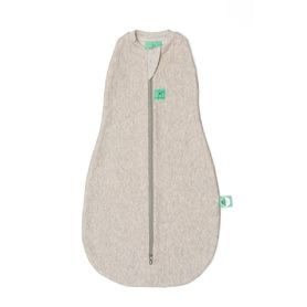 Ergopouch Organic Cotton Cocoon Swaddle Bag 1.0 Tog Grey Marle 0-3 Months