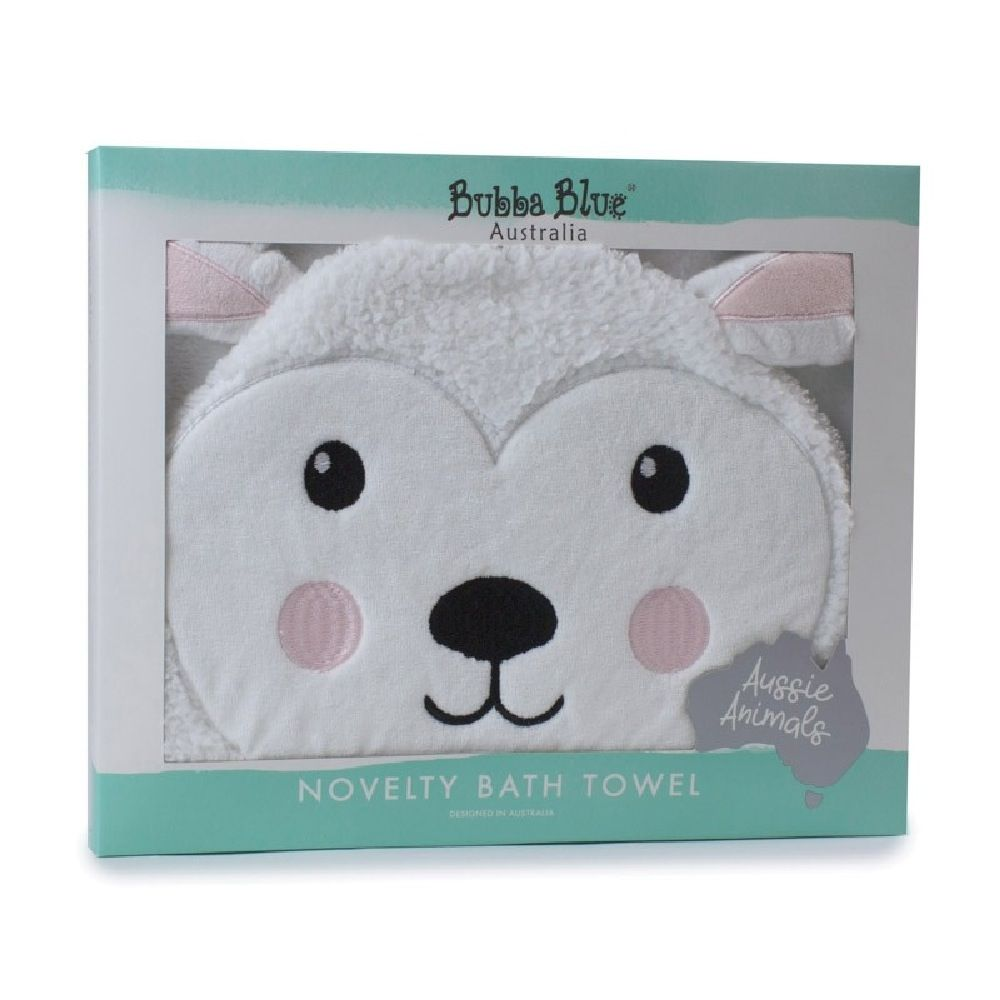 Bubba Blue Novelty Towel Sheep image 2
