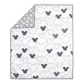 Disney Mod Mickey Quilt Grey